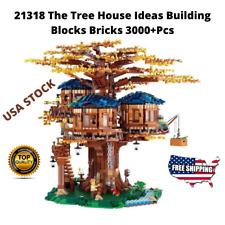 Ideas Tree House Building Blocks Bricks Kit Model Set Compatible 21318 Toy Gift