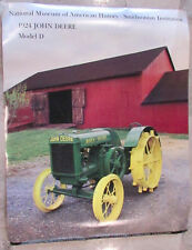 Vintage 1989 John Deere Model D Tractor Smithsonian Institute Wall Poster Print