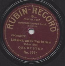 Seltene Rubin Record aus dem Berlin der 20er Jahre akustisch