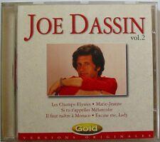 JOE DASSIN (CD)  GOLD VOL 2  /     15 TITRES
