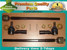 4 INNER OUTER TIE ROD END SET FOR  TOYOTA AVALON 95-04 CAMRY 92-01