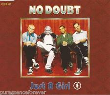 NO DOUBT - Just A Girl (UK 4 Track CD Single Part 2)