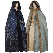 Womens Hooded Renaissance Cloak