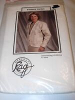 FANTASY JACKET MERCHANT RAG PIECE QUILTING SEWING CRAFTS PATTERN PROJECT P-XL