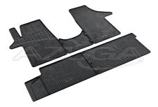 Gummimatten für VW T5/T6 Transporter Caravelle Gummi-Fußmatten 5-teilig