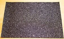 """BooDad's Grips Gun Grips Material Sheet 5""""x7"""" BLACK Textured Rubber Grip Tape"""