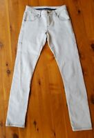 SASS & BIDE Light Grey 'Wintergate' Skinny Stretch Jeans Size 24
