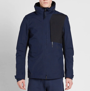 Nike Nikelab ACG 2 In 1 System Gore-Tex Navy Blue Jacket 816726-451 M Medium