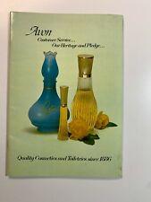 Vintage Catalogue - Avon 1960's Cosmetics