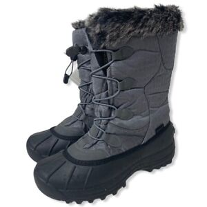 NEW ARTIC CAT Velocity Charcoal SNOWMOBILE SNOW BOOTS SIZE Women's 11 Mens 9