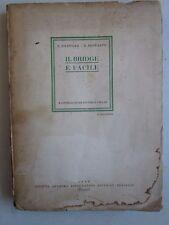1948 IL BRIDGE E' FACILE Filipello Bonfante SATET Torino giochi di carte