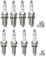 Spark Plugs x 8 Bosch Fits Alfa Romeo 145 146 147 155 156 166 GTV GT Twin Spark