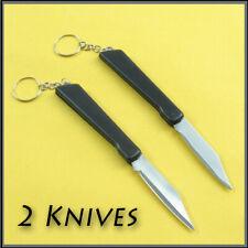 2 x Pocket  Knives ,Folding,Key Ring, Sharp blade,keychain,mini utility knife
