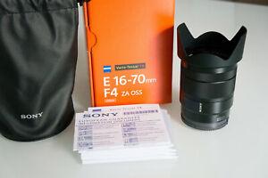 Sony Carl Zeiss Vario-Tessar T SEL1670Z 16-70 mm F/4,0 Aspherical IF OSS ZA G ED