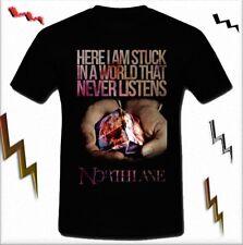 Northlane Australian metalcore band The Amity Affliction T-shirt tee S M L XL 2X