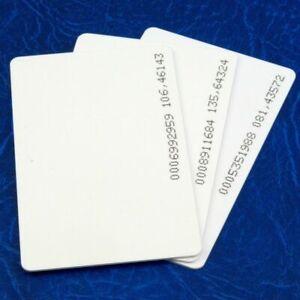 RFID Cards 125khz Proximity ID Access control EM4100 EM4102 TK4100 UK
