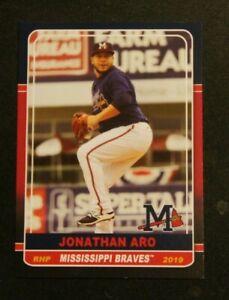 2019 Grandstand, Mississippi Braves - JONATHAN ARO - Dominican Republic