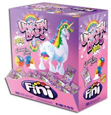 (1000g=9,99€) Fini Unicorn Balls - Einhorn Bälle mit Brause Füllung - 200 Stück