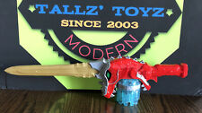 """Power Rangers*Dino Charge*Super Drive*Red T-Rex 18"""" Sword*Bandai*2015*No Bullets"""