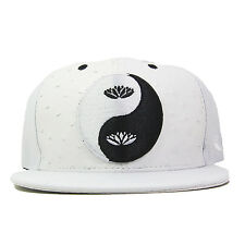 Eunoian Ying Yang Strapback Hat White Black Snapback Lot Vintage Stampd Just Don