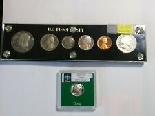 7 Mixed Original Proof US Mint Coins Very Nice Coin Collection Lot cc1892s397o