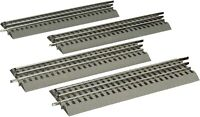 """Lionel FasTrack Electric O Gauge 10"""" Straight Track 4 Pack"""