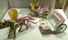 Playmobil Fairies Konvolut Feenkutschen + Pferd