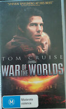VHS-TOM CRUISE-WAR OF THE WORLD