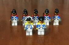 LEGO PIRATES IMPERIALS Army Builder Lot 2-- Minifig Admiral Sentry Guard Soldier