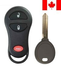 1x New Replacement Keyless Entry Remote Key Fob 64 Chip For Chrysler Dodge Ram