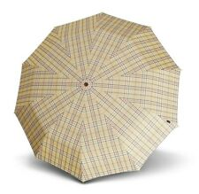 Knirps Classic Line Long AC Regenschirm Red Check Rot