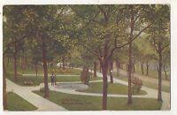 Park View, WINONA LAKE IN Vintage 1912 Indiana Postcard