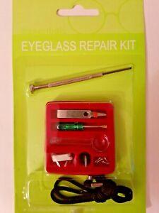 Eye Glasses/Spectacle/Sun Glasses Repair Kit with Screws and Nose Pads UK SELLER