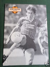 KENNY DALGLISH - LIVERPOOL - 1 PAGE PICTURE - CLIPPING /CUTTING