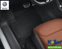 Original Volkswagen Tiguan MQB Fußmatten Gummimatten 4-tlg. Allwettermatten