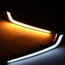 LED Daytime Running lights For Cadillac XTS 2013-2015 DRL Driving Fog lamp Cover
