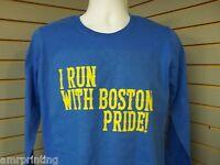 I Run With Boston Pride, Marathon Long Sleeve T-Shirt