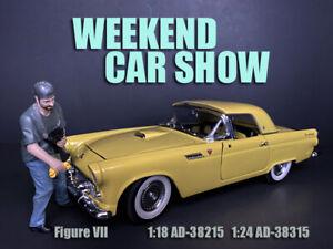 American Diorama 1:18 Scale Figure 10cm * Weekend Car Show Figure VII * AD-38215