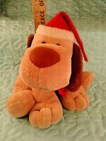 Hallmark Christmas Animated Plush Dog in Santa Hat Barks & Howls Sound & Motion