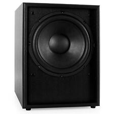 Diffusori Pavimento Casse Subwoofer Attivo Amplificatore Hi Fi Bass Reflex 250 W