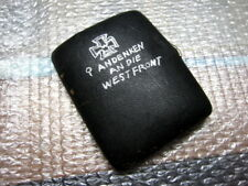 .German Cigarette Case,West Front Ww1 Iron Cross