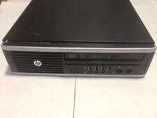 HP Compaq Elite 8200 Ultra Slim Barebone PC (NO CPU RAM HDD or AC Adaptor)