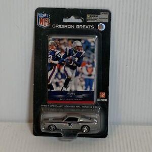 2008 Upper Deck Randy Moss New England Patriots 1/64 Mustang Rare