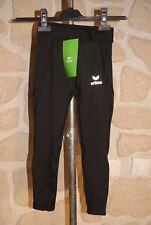 Collant long basic noir neuf marque ERIMA taille 5 ans (116 cm)