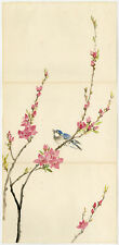 Antique Drawing-BIRD-BRANCH-ASIAN-CHINESE-Anonymous-ca. 1960