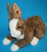 "TY Classic Easter BUNNY RABBIT THIMBLES 11"" Plush Soft Stuffed 2002 Realistic"