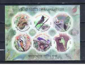 BANGLADESH BIRDS 2012  MNH