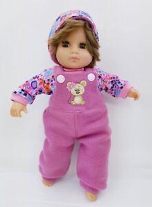 Puppenkleidung:Puppe 30cm Eiszeit