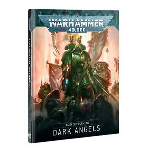 Warhammer 40k Dark Angels Codex Supplement 9th Edition -->NEW in Shrinkwrap<--