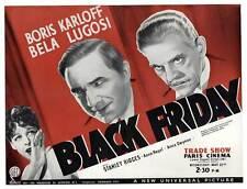 BLACK FRIDAY Movie POSTER 22x28 Half Sheet B